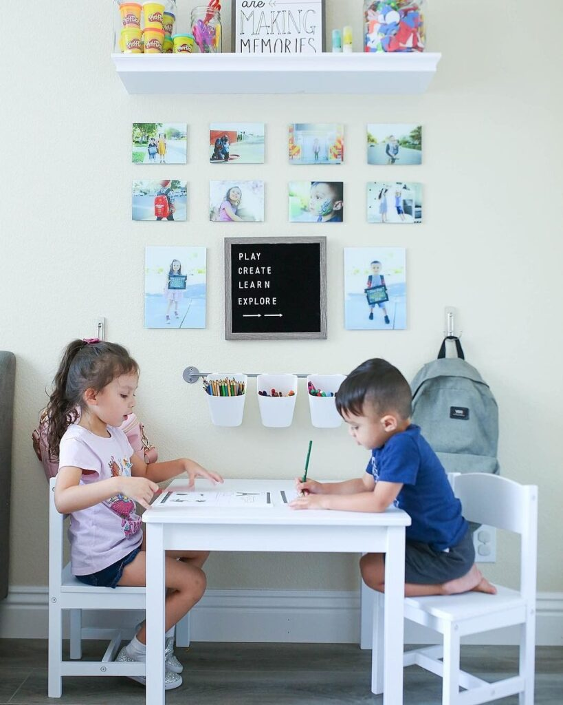 zone d'étude pour enfant